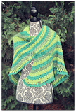Amazing Grace Lucky Green Shawl free crochet pattern