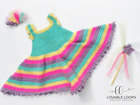 Fairy Costume Free Crochet Pattern