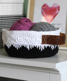 Dripping Icing Crochet Basket