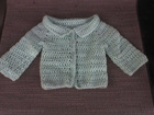 Amy's Newborn Cardigan