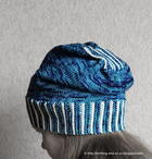 Knit Only Slouch Hat free knitted hat pattern