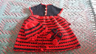 Baby Dress, Hat and Shoes Free Crochet Pattern