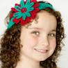 Season of Giving Headband free crochet pattern