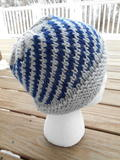 Helicoid Knit Hat free knitted hat pattern