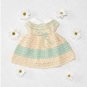 Easter Dress Free Crochet Pattern