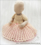 Delicate Princess Dress Free Crochet Pattern