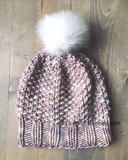 Dustweaver Seed Stitch Hat free knitted hat pattern