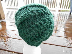Viridian Pathways Hat free knitted hat pattern