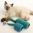 Blue Bells Cat Toy free crocht pattern