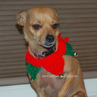 Santa's Little Helper Dog Collar