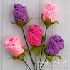 Origami Rose Free Crochet Pattern