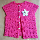 Toddler Short Sleeve Cardigan