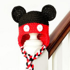 Tasseled Magical Mouse Baby Hat