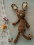 Agnes the Bunny Free Crochet Pattern