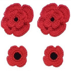 Remembrance Poppies free crochet Pattern