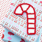 Candy Cane Gift Topper pattern