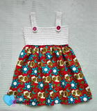 Simple Summertime Baby Sundress free crochet pattern