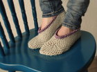 Comfy Crochet Slippers