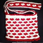 Crochet Heart Pattern for a Fabulous Bag