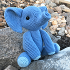 Esther the Elephant Free Crochet Pattern