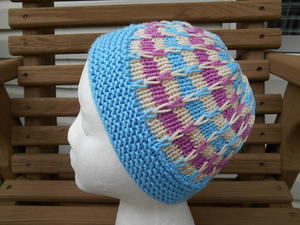 Step by Step Hat free knitted hat pattern