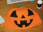Child Pumpkin Hat
