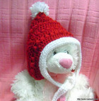 Christmas Pixie Baby Hat Pattern