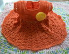 Salmon Pie Crochet Baby Dress free crochet pattern