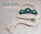 Gorgeous Snow Queen Crochet Hat