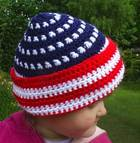Patriotic Toddler's Hat