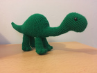 One Piece Brontosaurus Free Crochet Pattern