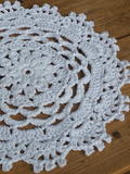 Garden Party Placemat free crochet pattern