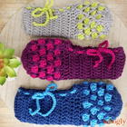 Chic Moroccan Slippers free crochet pattern