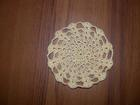 Stacked Shells Mini Doily free crochet pattern