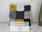 Squared Off Crochet Pillow free crochet pattern