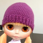 "Blythe ""Any yarn, any hook\"" beanie  free crochet pattern"