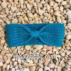 Tisha Bow Headband pattern