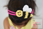 Bee Happy Spring Headband pattern