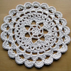 Prettiest Passion Flower Doily free crochet pattern