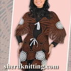 Crochet Tunic With Round Motif