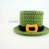 Lucky Crochet Top Hat