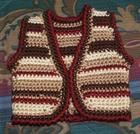 Saddle Tramp Vest-Free Crochet Pattern