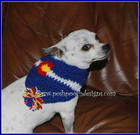 Colorado Dog Bandana free crochet pattern