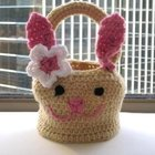 Friendly Bunny Basket