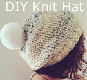 Marshmallow Fluff Chunky Hat free knitted hat pattern
