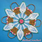 Pineapple Doily free crochet Pattern