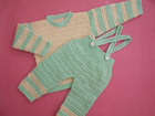 Boy's Pants and Sweater Free Crochet Pattern