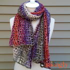Winged Wrap free crochet pattern