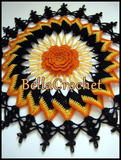 Trick or Treat Doily free crochet pattern