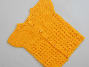 Baby Cardigan Sweater Free Crochet Pattern